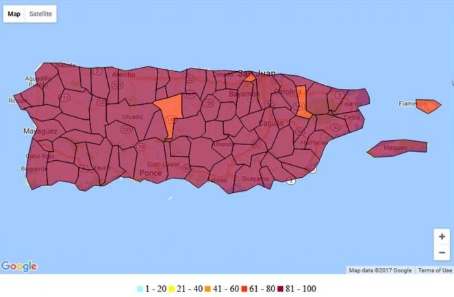 Huracán María deja al menos 33 muertos en el Caribe